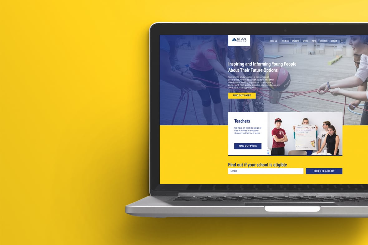 Study Higher website - About us