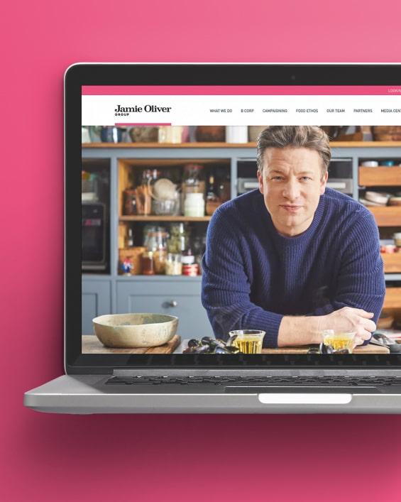 Jamie Oliver website - Home