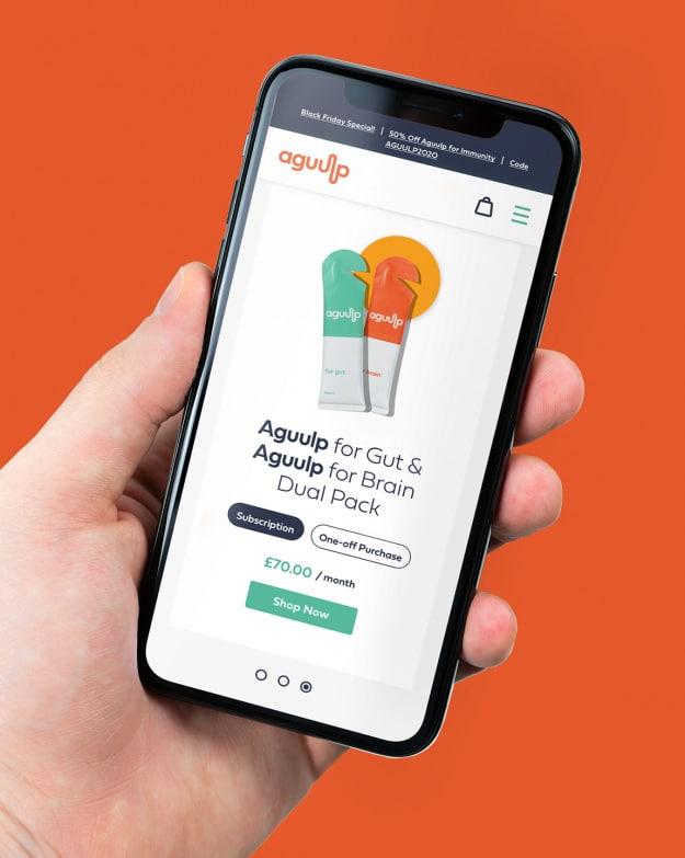 Aguulp mobile site - Subscription