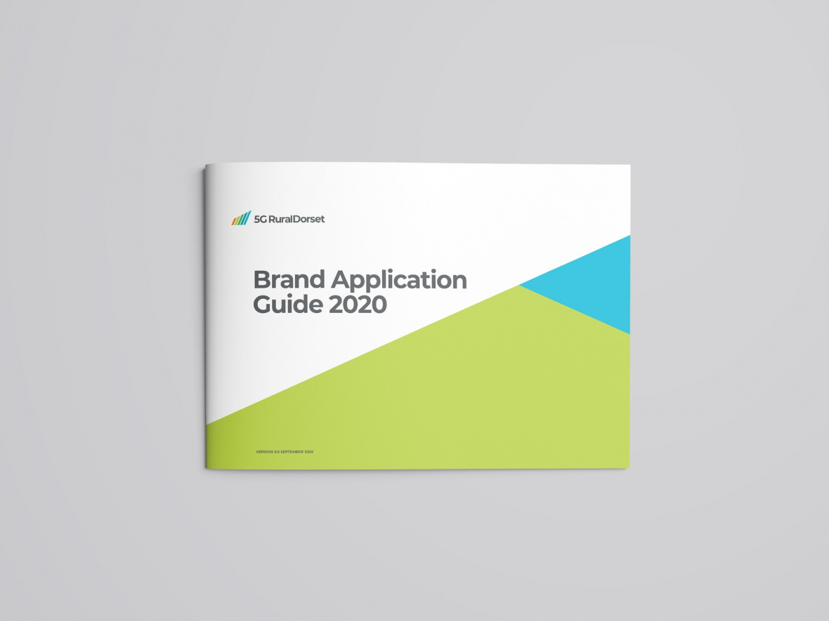 5G RuralDorset brand application guide 2020