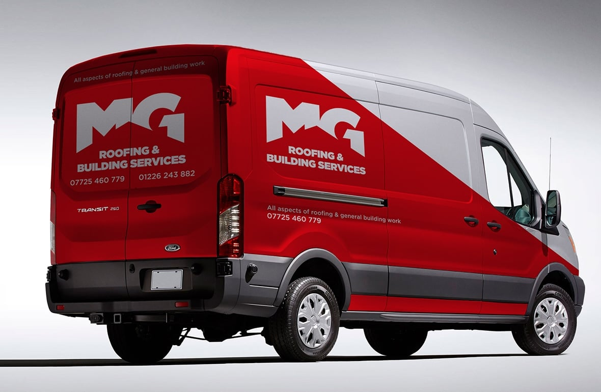 MG Roofing - Branded Vehicle 2