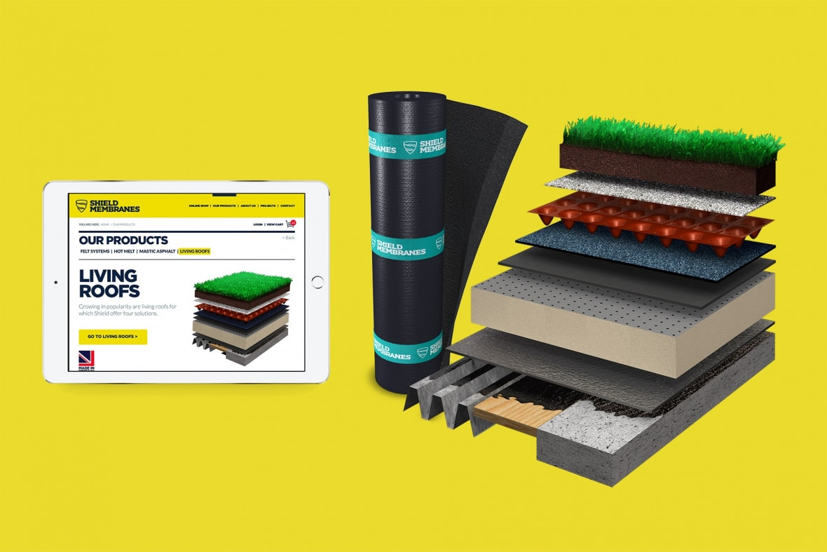 Shield Membranes product mockup