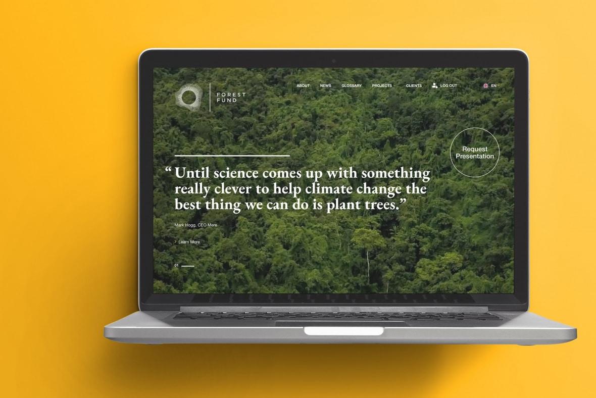 Forest Fund website - Home