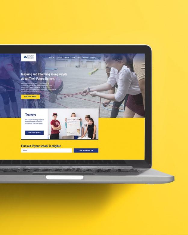 Study Higher website